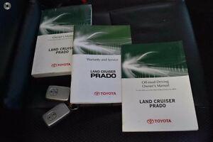 2009 Toyota Landcruiser Prado GRJ150R VX Silver 5 Speed Sports Automatic Wagon