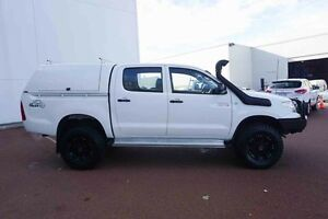 2010 Toyota Hilux KUN26R MY10 SR White 4 Speed Automatic Utility Wangara Wanneroo Area Preview