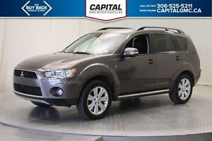 2012 Mitsubishi Outlander GT 4WD *Back Up Camera-Leather-Sunroof