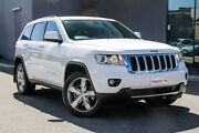 2013 Jeep Grand Cherokee WK MY2013 Limited White 5 Speed Sports Automatic Wagon Osborne Park Stirling Area Preview