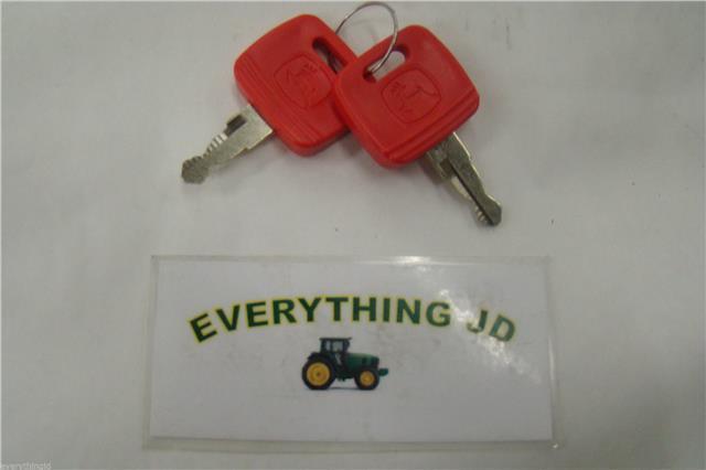 John Deere Key RE183935 Fits 7000 & 8000 Series Tractors