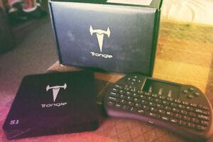Android KODI Box w/wireless keyboard - HALLOWEEN SPECIAL!