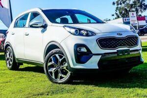 2019 Kia Sportage QL MY19 Si 2WD Premium Clear White 6 Speed Sports Automatic Wagon Wangara Wanneroo Area Preview