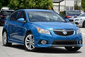 2014 Holden Cruze JH Series II MY14 SRi-V Blue 6 Speed Sports Automatic Hatchback Toowong Brisbane North West Preview