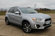2014 Mitsubishi ASX XB MY15 LS 2WD Silver 6 Speed Constant Variable Wagon Derwent Park Glenorchy Area Preview