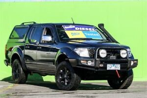 2008 Nissan Navara D40 ST-X Blue 6 Speed Manual Utility Ringwood East Maroondah Area Preview