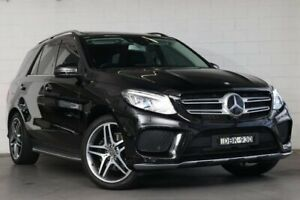 2015 Mercedes-Benz GLE350 W166 d 9G-Tronic 4MATIC Black 9 Speed Sports Automatic Wagon