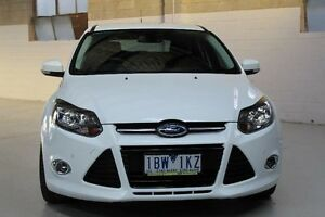 2014 Ford Focus Titanium White Sports Automatic Dual Clutch Hatchback Knoxfield Knox Area Preview
