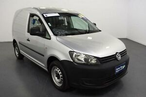2013 Volkswagen Caddy 2K MY13 TSI160 Reflex Silver 5 Speed Manual Van Moorabbin Kingston Area Preview