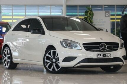 2014 Mercedes-Benz A200 W176 D-CT White 7 Speed Sports Automatic Dual Clutch Hatchback