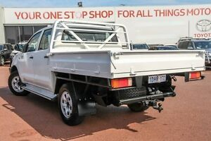 2008 Toyota Hilux KUN26R MY09 SR White 5 Speed Manual Cab Chassis Westminster Stirling Area Preview