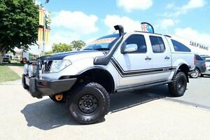 2006 Nissan Navara D40 ST-X Silver 5 Speed Automatic Dual Cab Woodridge Logan Area Preview