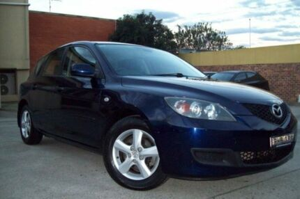2008 Mazda 3 BK MY08 Neo Sport Blue 4 Speed Auto Activematic Hatchback