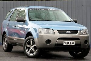 2006 Ford Territory SY TX Blue 4 Speed Sports Automatic Wagon Blair Athol Port Adelaide Area Preview