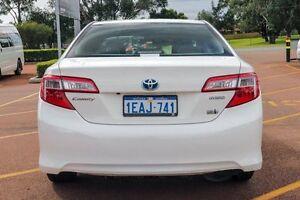 2012 Toyota Camry AVV50R Hybrid H White 1 Speed Constant Variable Sedan Balcatta Stirling Area Preview