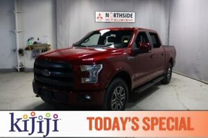 2017 Ford F-150 4WD SUPERCREW LARIAT Navigation (GPS),  Leather,