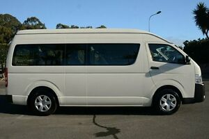 2015 Toyota Hiace KDH223R Commuter High Roof Super LWB White 4 Speed Automatic Bus Acacia Ridge Brisbane South West Preview