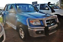 2010 Mazda BT-50 UNY0E4 DX+ Blue Manual Cab Chassis Minchinbury Blacktown Area Preview