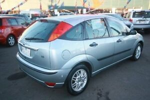 2002 Ford Focus LR LX Silver 4 Speed Automatic Hatchback Kingsville Maribyrnong Area Preview