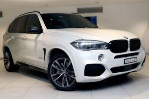 2016 BMW X5 F15 xDrive50i White 8 Speed Sports Automatic Wagon