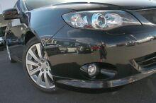 2007 Subaru Impreza MY07 WRX (AWD) Black 5 Speed Manual Hatchback Wolli Creek Rockdale Area Preview