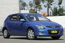 2011 Hyundai i30 FD MY11 SX Blue 5 Speed Manual Hatchback Campbelltown Campbelltown Area Preview