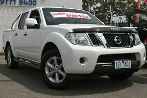 2014 Nissan Navara D40 S7 ST 4x2 White 6 Speed Manual Utility Dandenong Greater Dandenong Preview