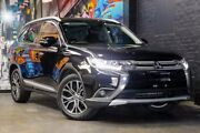 2015 Mitsubishi Outlander ZK MY16 XLS 2WD Black 6 Speed Constant Variable Wagon Perth Perth City Area Preview
