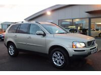VOLVO XC90 2.4 D5 SE LUX AWD 5d AUTO 185 BHP - 360 SPIN ON WE (gold) 2007