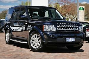 2011 Land Rover Discovery 4 Series 4 MY11 TdV6 CommandShift Buckingham Blue 6 Speed Sports Automatic Osborne Park Stirling Area Preview