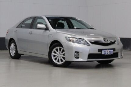 2010 Toyota Camry AHV40R Hybrid Silver Continuous Variable Sedan