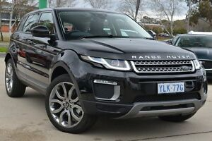 2016 Land Rover Range Rover Evoque L538 MY16.5 TD4 150 SE Santorini Black 9 Speed Sports Automatic Pearce Woden Valley Preview