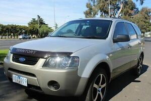 2006 Ford Territory SY TX Silver 4 Speed Sports Automatic Wagon West Footscray Maribyrnong Area Preview