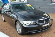 2007 BMW 320i E90 MY08 Executive Steptronic Black 6 Speed Sports Automatic Sedan Colyton Penrith Area Preview