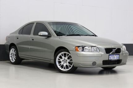 2008 Volvo S60 MY09 AWD Green 5 Speed Auto Geartronic Sedan Bentley Canning Area Preview