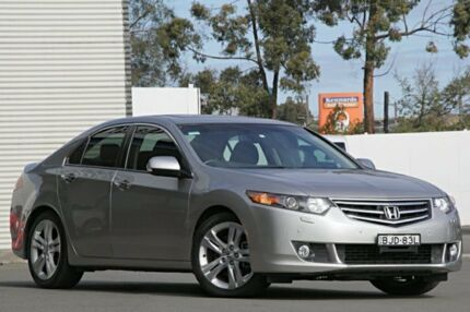 2008 Honda Accord Euro CU Luxury Silver 5 Speed Automatic Sedan Campbelltown Campbelltown Area Preview
