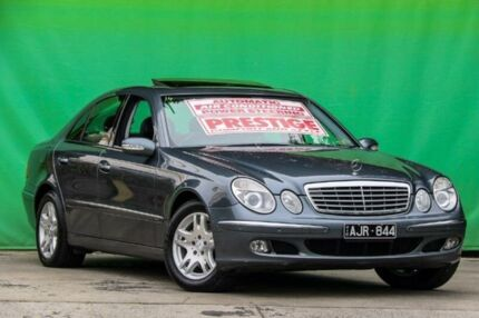 2006 Mercedes-Benz E350 W211 MY06 Elegance Grey 7 Speed Automatic Sedan Ringwood East Maroondah Area Preview