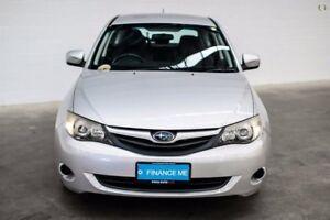 2011 Subaru Impreza G3 MY11 R AWD Silver 4 Speed Sports Automatic Hatchback