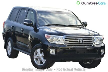 2012 Toyota Landcruiser VDJ200R MY12 VX Graphite 6 Speed Sports Automatic Wagon Wangara Wanneroo Area Preview