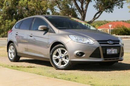 2013 Ford Focus LW MKII Trend PwrShift Lunar Sky 6 Speed Sports Automatic Dual Clutch Hatchback Wangara Wanneroo Area Preview
