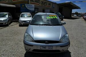 2004 Ford Focus LR LX Silver 5 Speed Manual Hatchback Delacombe Ballarat City Preview