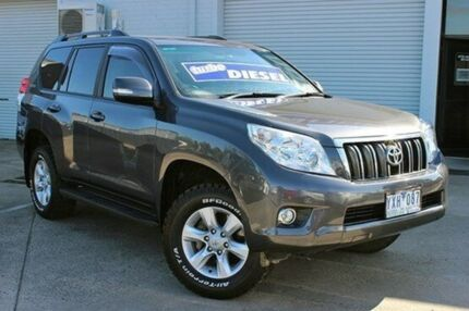 2012 Toyota Landcruiser Prado KDJ150R GX Grey 5 Speed Auto Seq Sportshift Wagon Cranbourne Casey Area Preview