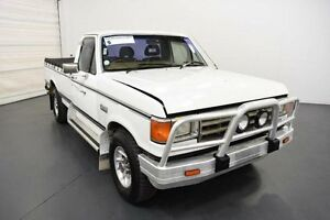 1985 Ford F250 XLT White Automatic Utility Moorabbin Kingston Area Preview