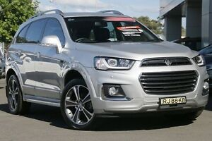 2016 Holden Captiva CG MY16 LTZ AWD Silver 6 Speed Sports Automatic Wagon Gymea Sutherland Area Preview