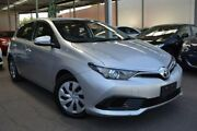 2015 Toyota Corolla ZRE182R Ascent S-CVT Silver 7 Speed Constant Variable Hatchback Hoppers Crossing Wyndham Area Preview