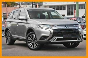 2018 Mitsubishi Outlander ZL MY19 ES AWD Sterling Silver 6 Speed Constant Variable Wagon Mount Gravatt Brisbane South East Preview