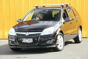 2007 Holden Astra AH MY07 CDX Black 4 Speed Automatic Wagon Heatherton Kingston Area Preview
