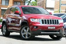 2012 Jeep Grand Cherokee WK MY12 Limited (4x4) Cherry Red 5 Speed Automatic Wagon Mosman Mosman Area Preview