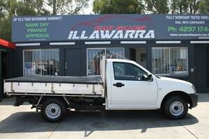 2005 Holden Rodeo RA MY05.5 DX White 5 Speed Manual 2D CAB CHASSIS Barrack Heights Shellharbour Area Preview