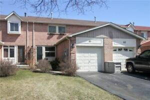 FULL House for Rent! Beautiful 3 BR Townhouse. Central Ajax!